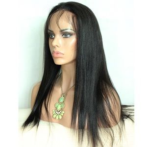Brazilian Straight 20 inch Lace Front Wig